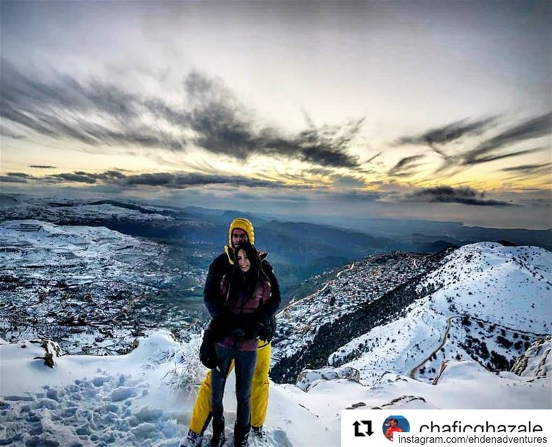 Repost @chaficghazale (@get_repost)・・・Enjoying the last sunset of 2018 ... (Ehden, Lebanon)