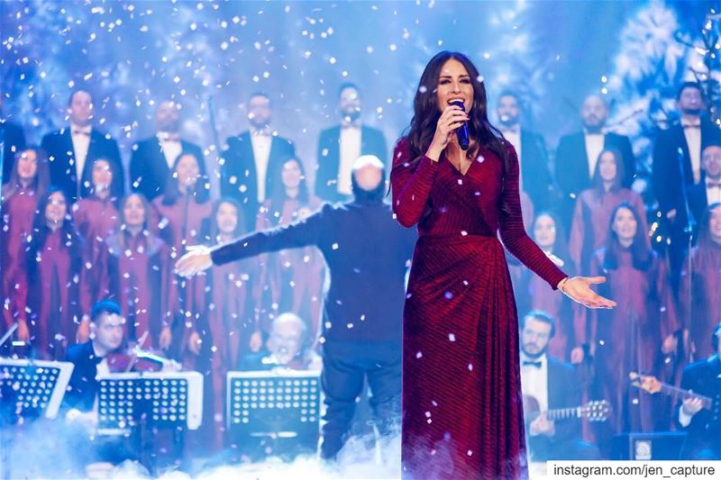 That outstanding angelic voice of @hibatawaji and the genius maestro @oussa (Saydet Maghdouche)