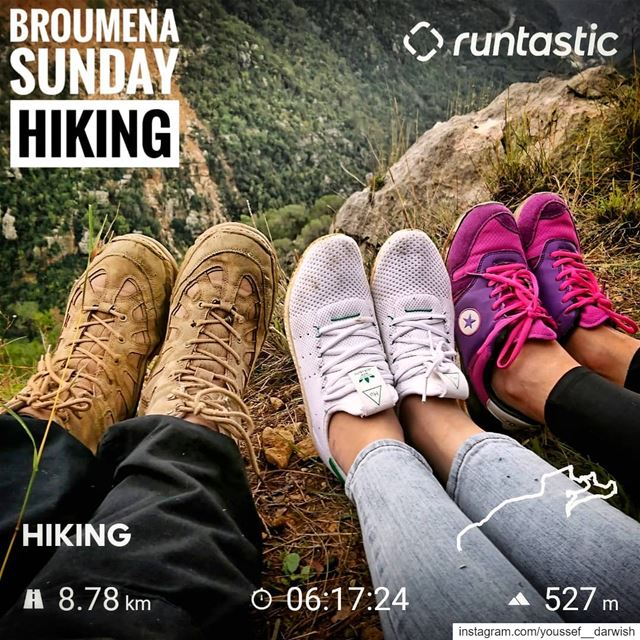 hiking  mashawer  mountains  adventuretime  shoes  friends  sony ... (Broummâna, Mont-Liban, Lebanon)