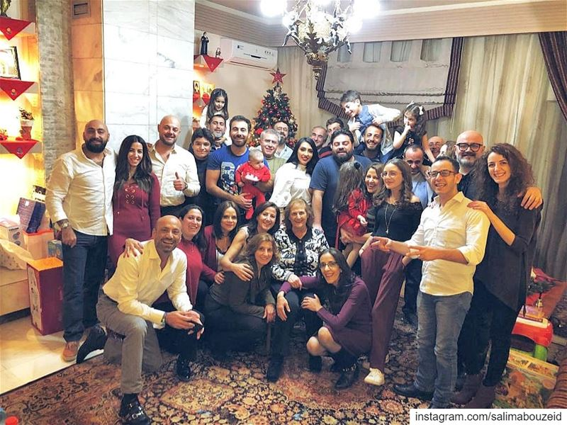 Merry Christmas from all of us, Here's to a season of love and harmony ❤... (Lebanon)