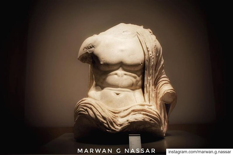 Torso Beirut, 🏛 Roman Era.....📍National Museum of Beirut, Lebanon 🇱 (National Museum of Beirut)