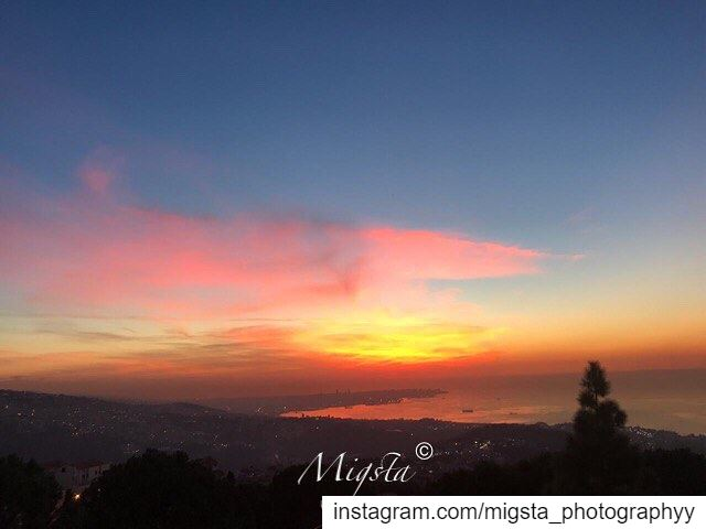 sunset  sun  color  red  orange  nature  camera  instanature  instagram ...
