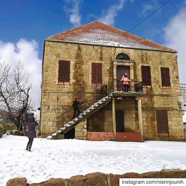 Kindness is like snow ❄️it beautifies everything it covers 🎄✨( Gibran... (Hadath El-Jubbah, Liban-Nord, Lebanon)
