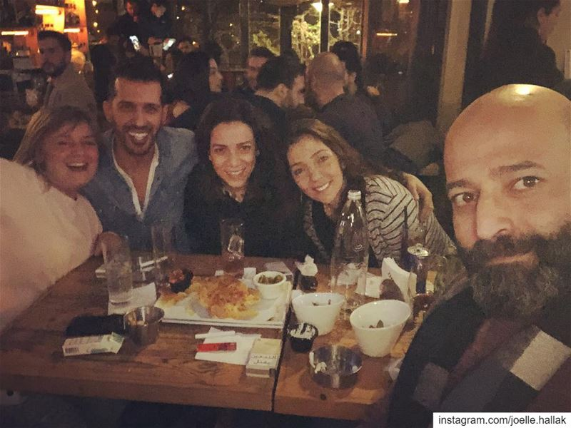 My peeps 😍 ---------- thevillage  drinks  fun  music  life ... (The Village Dbayeh)