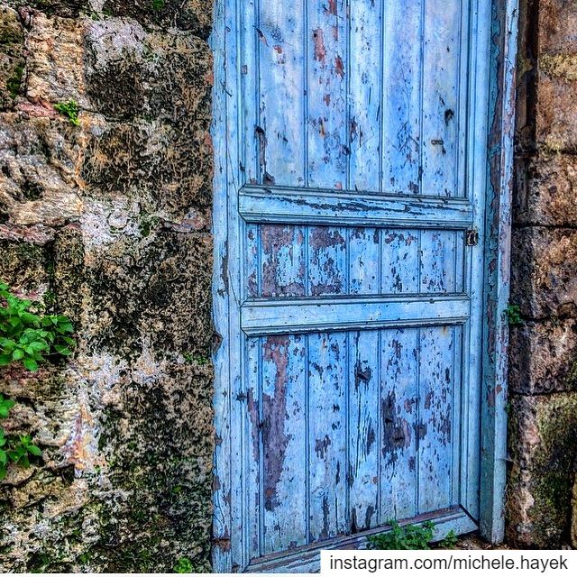 Open the door...It may leads you to some place you've never expected.💙💚... (Beirut, Lebanon)