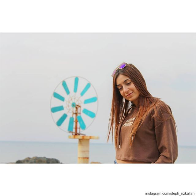 Windmills of your mind! livelovelebanon  liveloveanfeh  lebanonadventure ... (Lebanon Batroun)