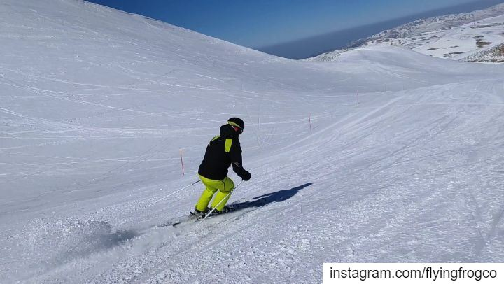 Book your session now! From intro to skiing, to parallel turn, to carving ... (Mzaar Ski Resort)