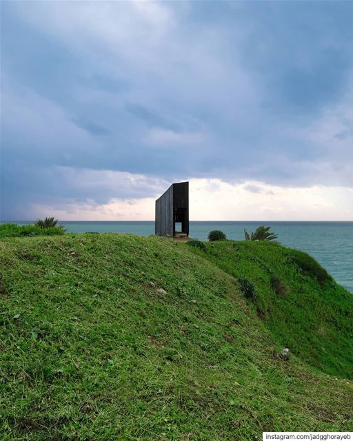 ~ The Sliding Chapel by Irish architect Kieran Donnellan ~...... (Byblos, Lebanon)