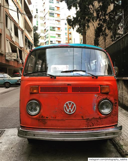 Another Vintage Car  volkswagen  iphone6splus  walk  sports  beirut ...