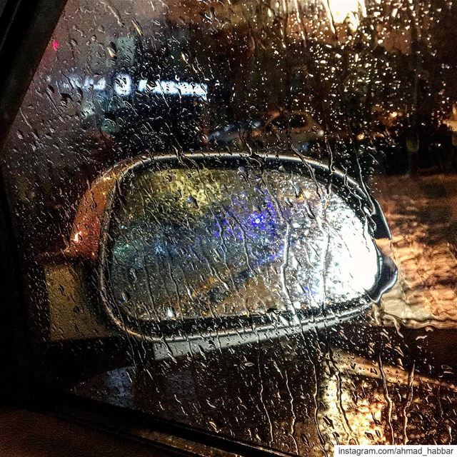 passion  passion  rain  window  night  taxi  mirror  beirut ... (Beirut, Lebanon)