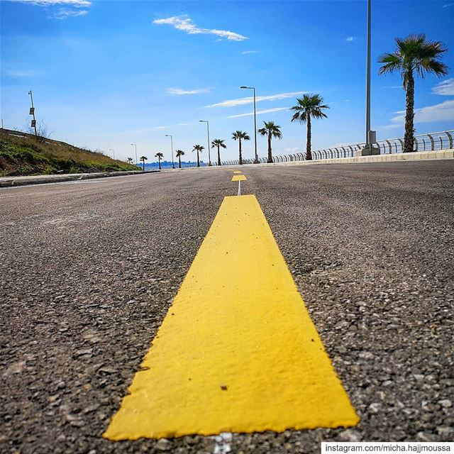 If there is a nice road to your destination, you are lucky; if there isn't... (Dbayhe)