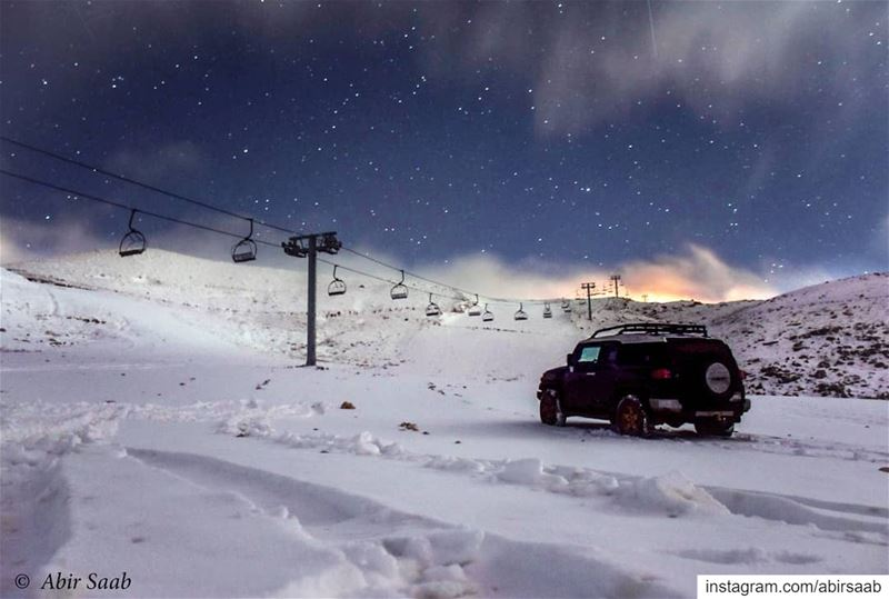Shine as bright as twinkling stars in a winter frosty night.... ... (Lebanon)