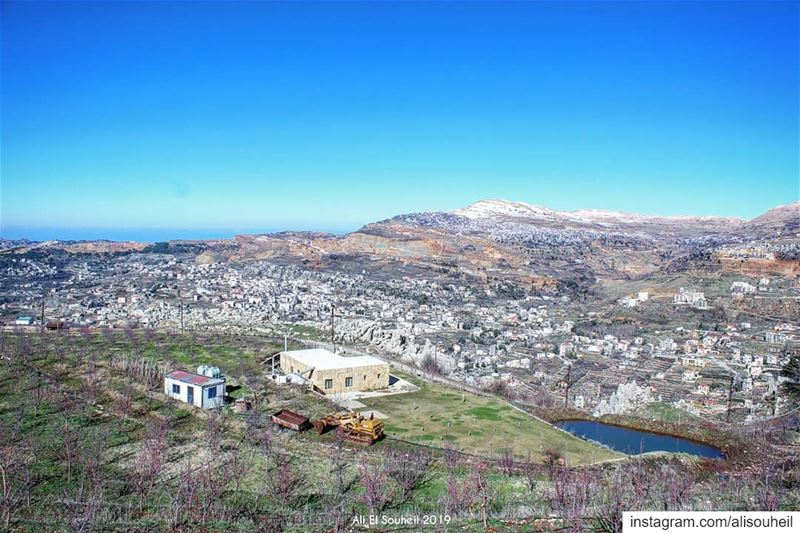 tb  fakra  mountains  mountlebanon  sky  hike  hiking  nature   colorful ... (Fakra)