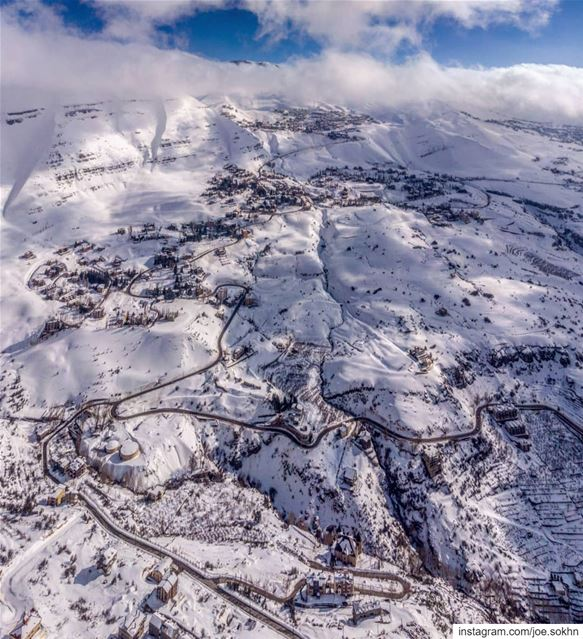What to expect after the storm🇱🇧💙❄🌩💙🇱🇧....... lebanon ... (Kfardebian كفردبيان)