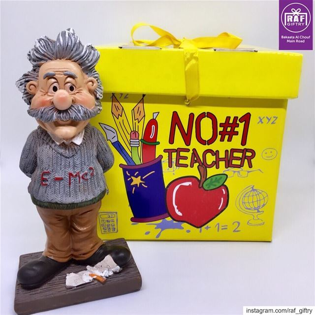 No 1️⃣ Teacher 📚 raf_giftry.......... einstein  1  teacher ... (Raf Giftry)