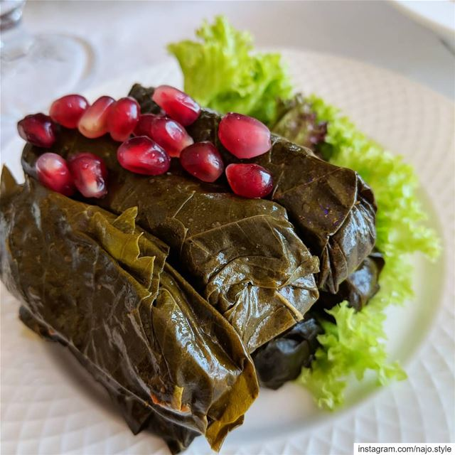 vineleaves  grapesleaves  yummyfood  yummy  lebanesefood  vegetarian ...