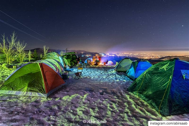 Time camping isn't spent.. It's invested! ... lebanon  livelovebeirut ...