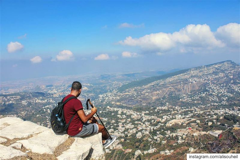 tb  northlebanon  hiking  sky  clouds  meditation  mountains  nature ... (Miniyeh-Danniyeh District)