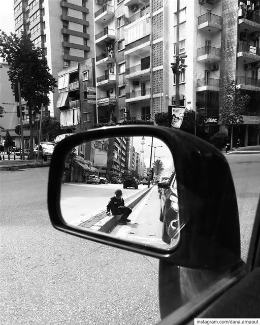 - Dreams in mirror are bigger than they appear ♥️!.. street ... (Beirut, Lebanon)