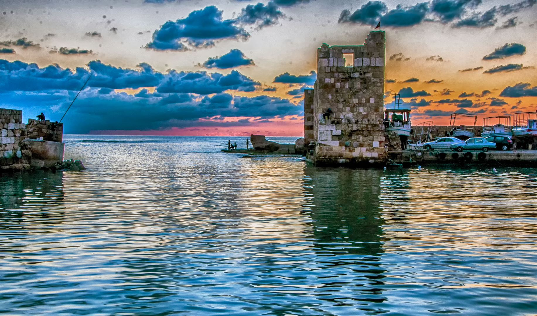 Byblos Beach Castle