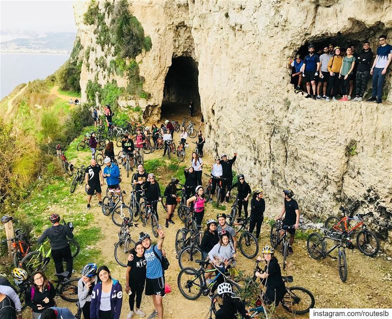 A day to remember 🤙More than 70 cyclist invaded the Historical tunnel of... (Chekka Tunnel)