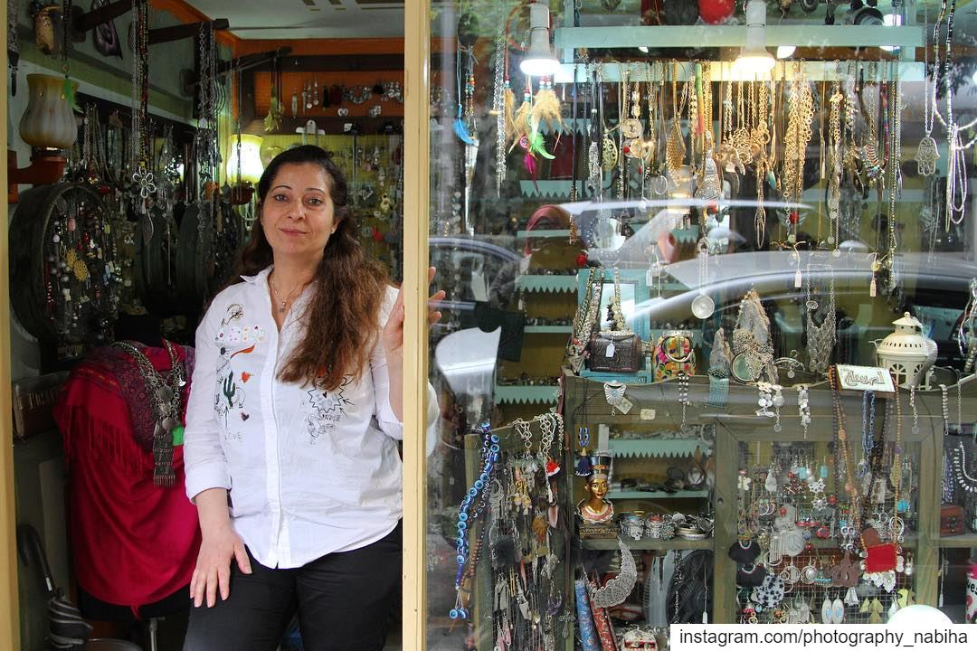 {People in their shops}   jewelry  local  village  beirut  photography ... (Hamra - حمراء)