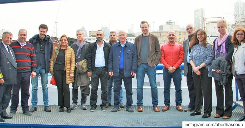 After celebrating the 10th anniversary of our scientific boat  CANA, the... (Beirut, Lebanon)