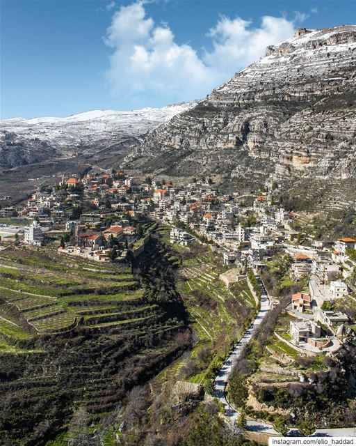Lebanon 🇱🇧  Akoura  livelovelebanon  Mountains  Mountain  Village  City... (Akoura, Mont-Liban, Lebanon)