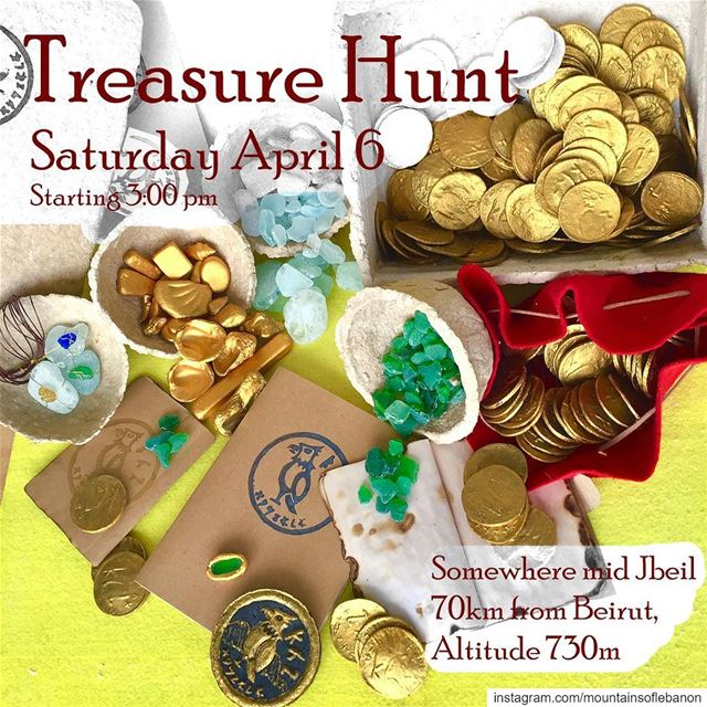 Since the days are longer... We'll be Treasure Hunting This Saturday April...