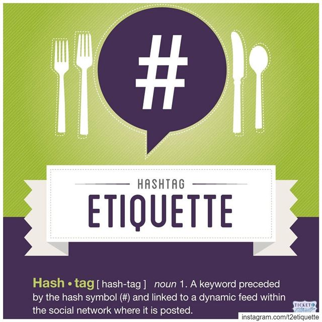 Here are some  etiquette tips to help you get the most out of  hashtags... (Lebanon)