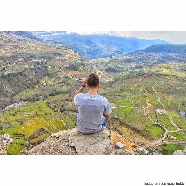 Sharing the impressive view from Saydet El Habes. Saydet El Habes is an... (Akoura Laklouk)