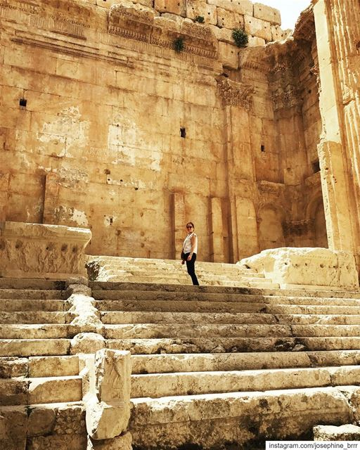 Baalbek...one of the world's best preserved and ancient Roman temple... (Baalbek, Lebanon)