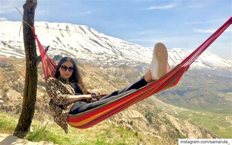 And now it's ME time 😎 📸 @ghinwa.rahme ... samarula  happy time ... (The Cedars of Lebanon)