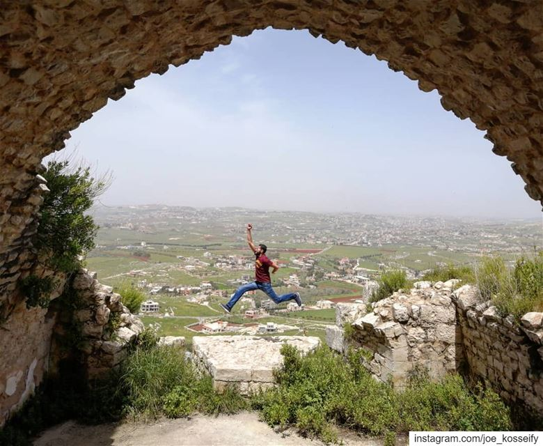 Those Who Never Jump, Will Never Fly 🏃‍♂️ (Beaufort Castle, Lebanon)