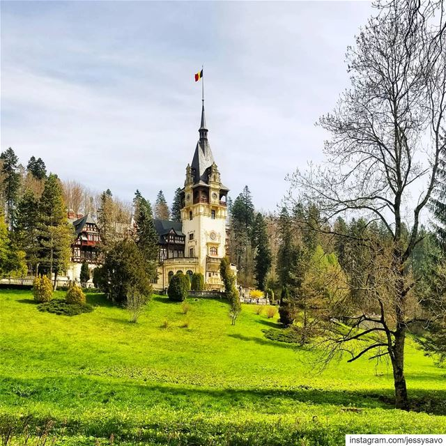 Peles Castle morning! ...----------------------------------------------- (Romania)