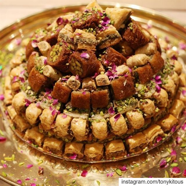 Planning my Ramadan table for family & friends Already craving baklawa ... (Comptoir Libanais London Bridge)