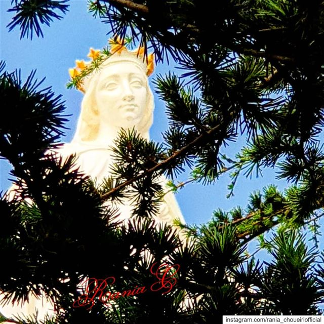 harissa  ourladyofharissa  ourladyoflebanon  stemaryblessus ... (Our Lady of Lebanon)