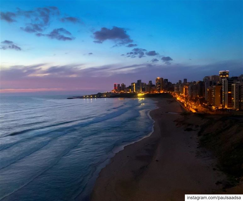 beach  beirut  beiruting  night  longexposure  lebanon  livelovelebanon ...
