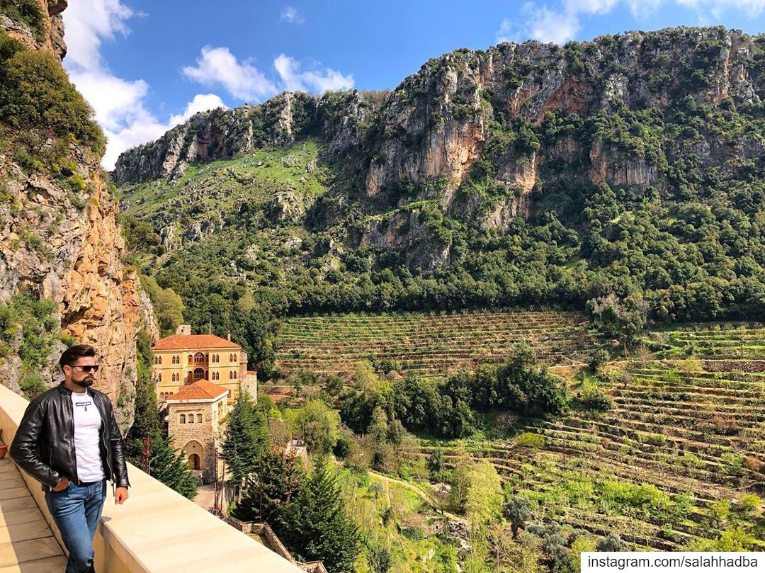 The most beautiful gift of nature is that it gives one pleasure to look... (Lebanon)
