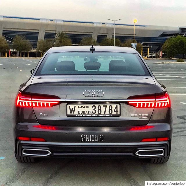 In love with the new A6. Stay tuned for the car full review soon on my... (Dubai, United Arab Emirates)