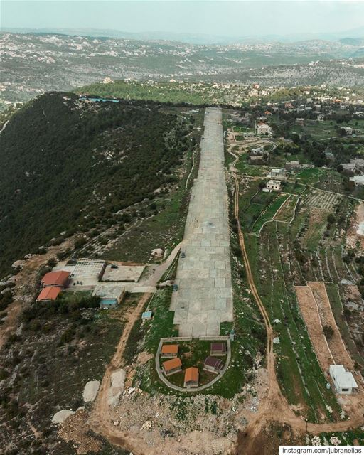 Baadaran Secret Airport, was built during the civil war but never... (Baadaran El chouf)