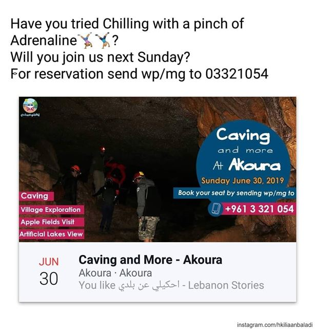 HkiliAanBaladi  LebanonStories  livelovelaklouk✌🏼️  caving ...