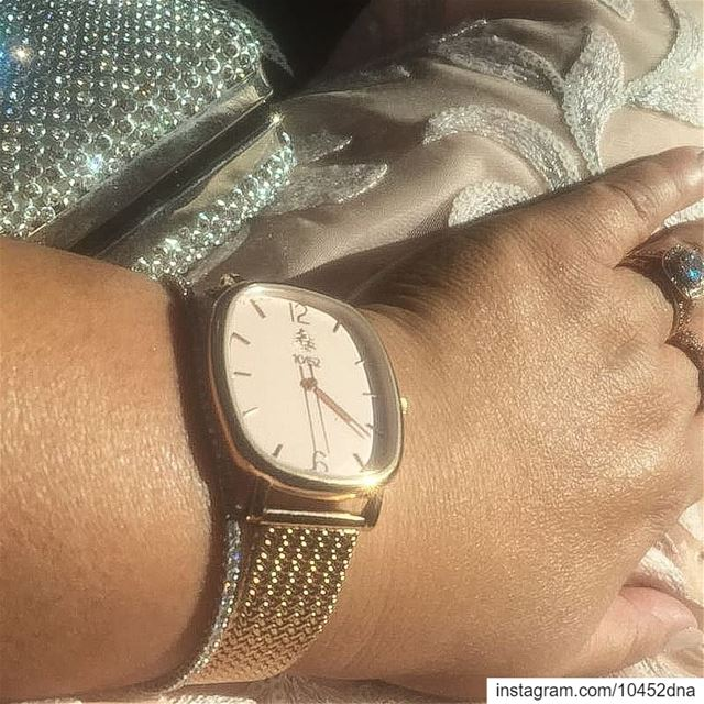"""My  10452dna  melrose  watch a  must with my evening  dress "" get yours... (Beirut, Lebanon)"