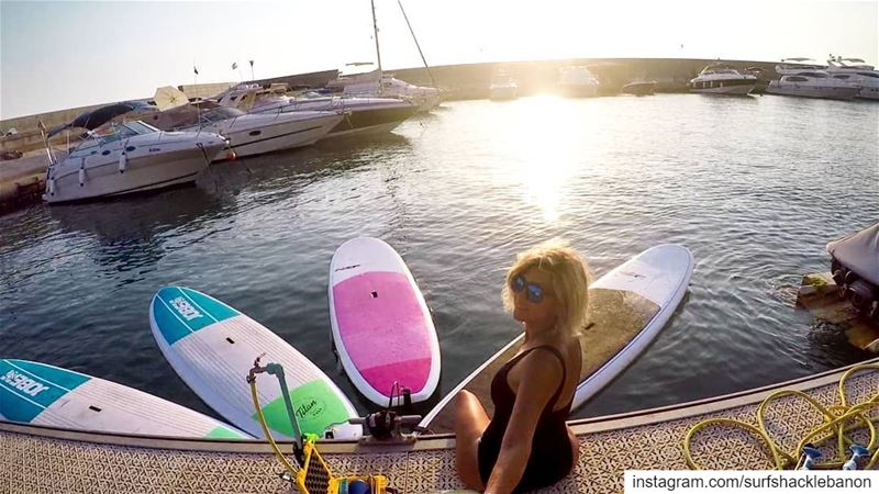 🌸💕 Paddle with @carolineduliban !... sup  standuppaddle ... (Halat, Mont-Liban, Lebanon)