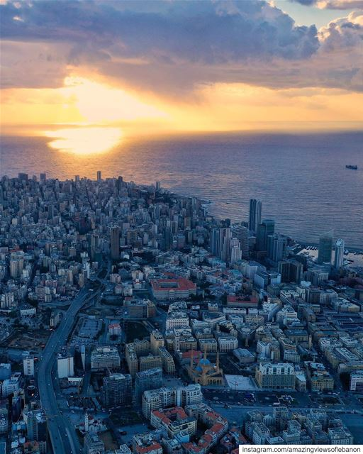 A city 🏙 is not gauged by its length and width, but by the broadness of... (Beirut, Lebanon)