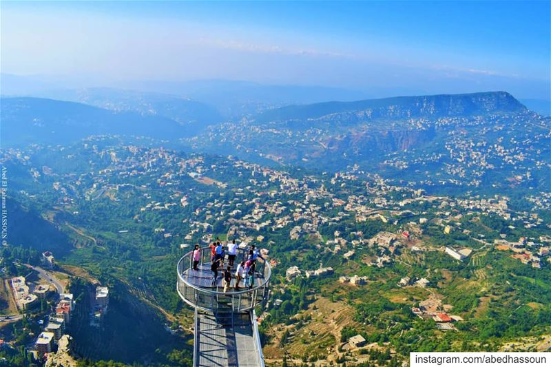 Top view from El Arbiin mountains-جبال الأربعين, Dannieh!........... (Bkaa Safreïn, Liban-Nord, Lebanon)