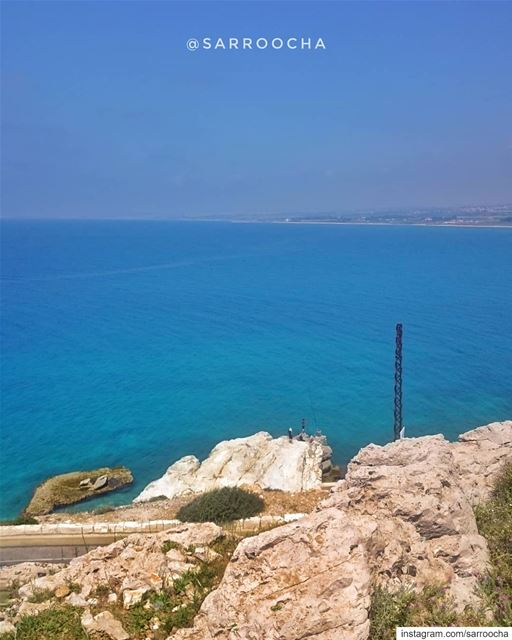 Dear ocean, thank you for making us feel tiny, humble, inspired, and... (Bayadah, Al Janub, Lebanon)