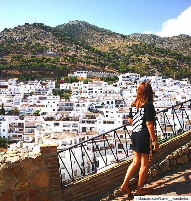Never look back - keep walking.--- TakeMeTo  Costadelsol  spain  mijas... (Mijas Pueblo)