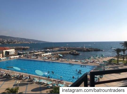 batroun  البترون_سفرة @aqualandbatroun  resort  beach  sea ... (Batroûn)