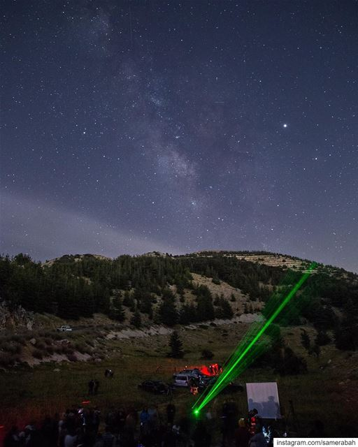 Les Nuit des Etoiles event in @shoufreserve @spacedlebanon @moophz @rita (Al Shouf Cedar Nature Reserve)